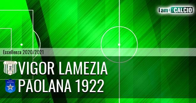 Vigor Lamezia - Paolana 1922