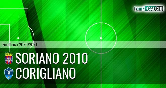 Soriano 2010 - Corigliano