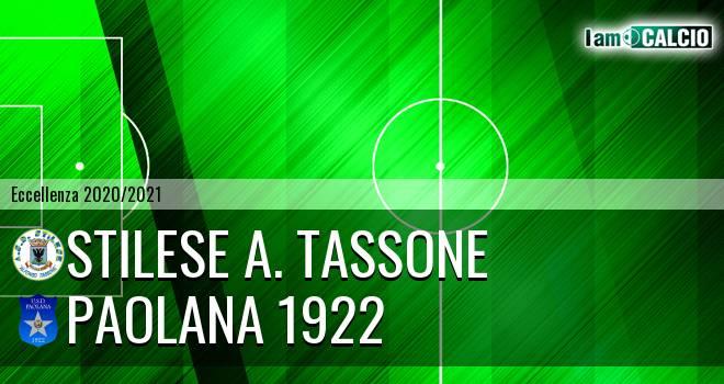 Stilese A. Tassone - Paolana 1922
