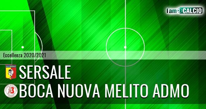 Sersale - Boca Nuova Melito ADMO