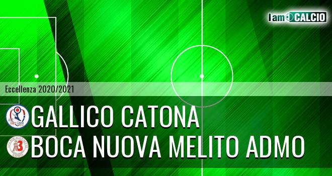 Gallico Catona - Boca Nuova Melito ADMO