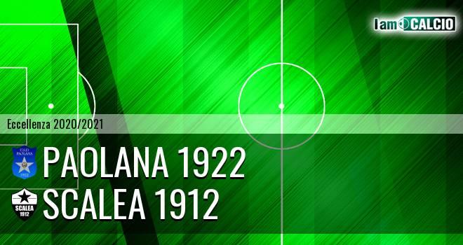 Paolana 1922 - Scalea 1912