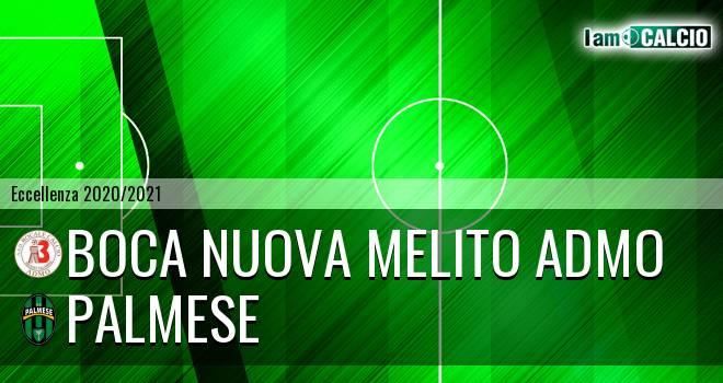 Boca Nuova Melito ADMO - Palmese