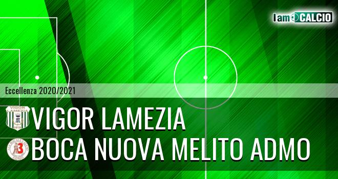 Vigor Lamezia - Boca Nuova Melito ADMO