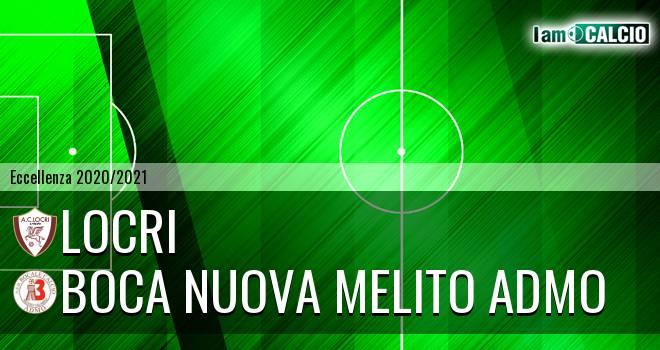 Locri - Boca Nuova Melito ADMO