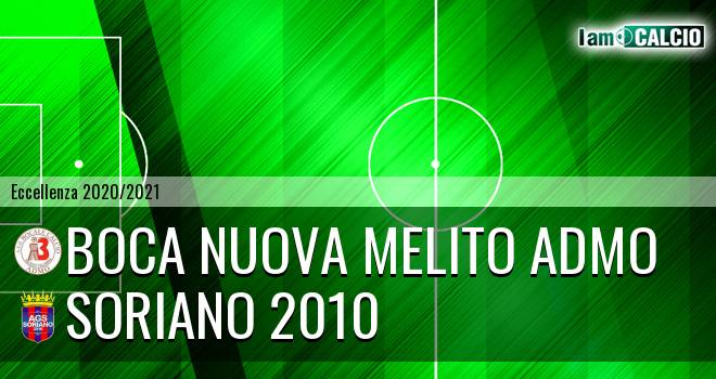 Boca Nuova Melito ADMO - Soriano 2010