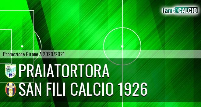 PraiaTortora - San Fili Calcio 1926