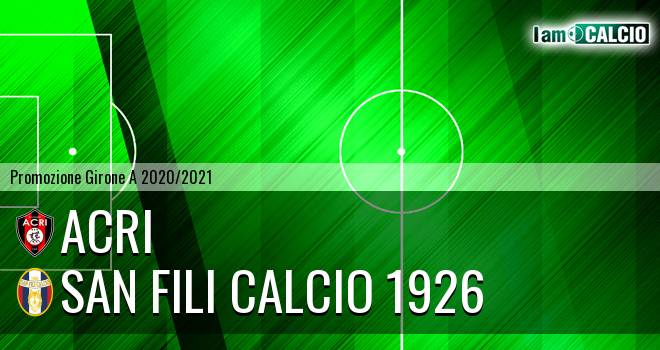 Acri - San Fili Calcio 1926