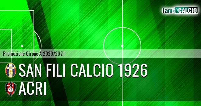 San Fili Calcio 1926 - Acri