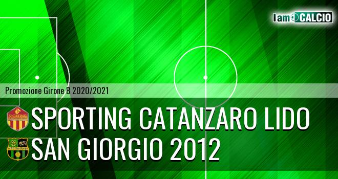 Sporting Catanzaro Lido - San Giorgio 2012