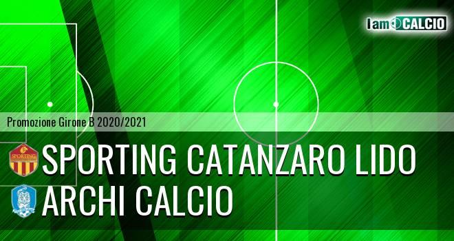 Sporting Catanzaro Lido - Archi Calcio