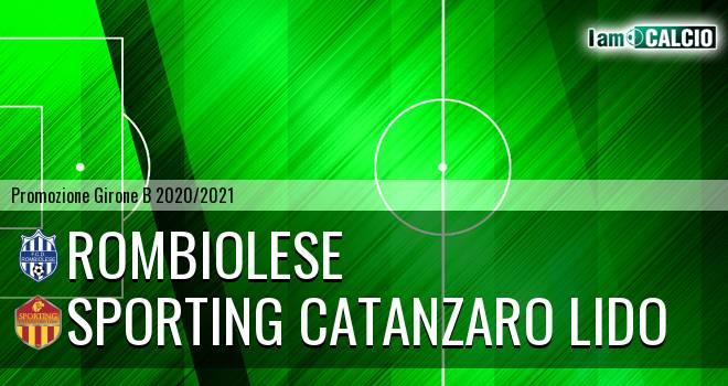 Rombiolese - Sporting Catanzaro Lido