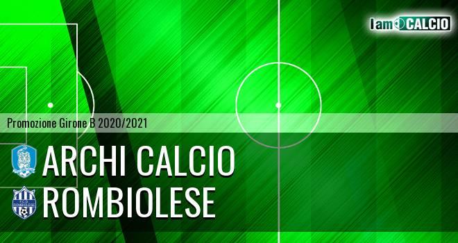 Archi Calcio - Rombiolese