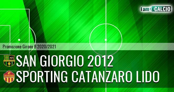 San Giorgio 2012 - Sporting Catanzaro Lido
