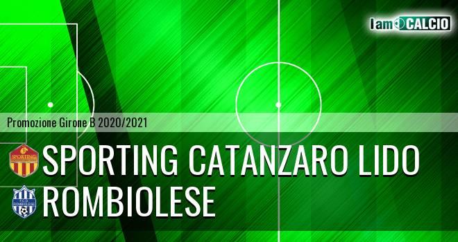Sporting Catanzaro Lido - Rombiolese