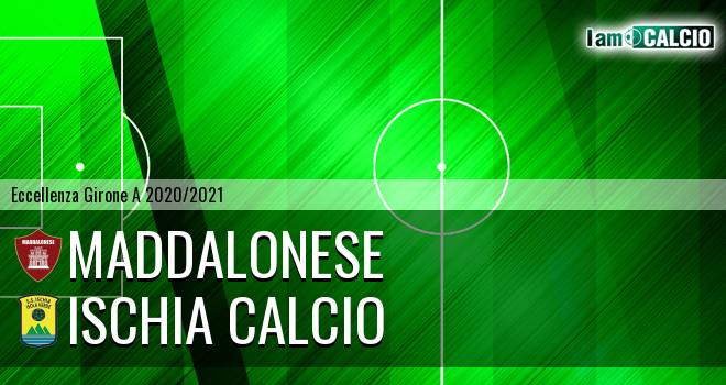 Maddalonese - Ischia Calcio