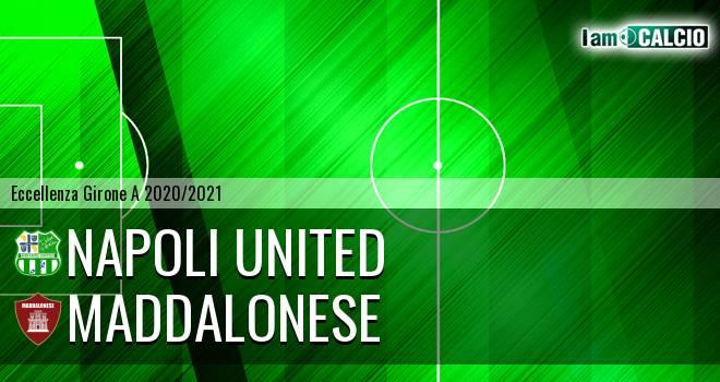 Napoli United - Maddalonese