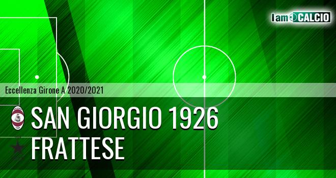 San Giorgio 1926 - Frattamaggiore Calcio