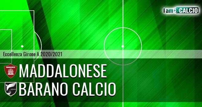 Maddalonese - Barano Calcio