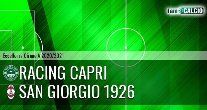 Racing Capri - San Giorgio 1926