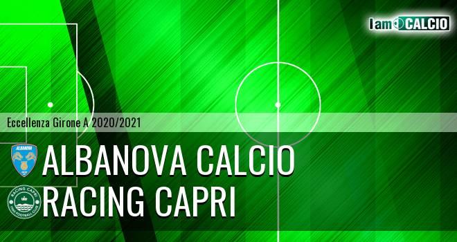 Albanova Calcio - Racing Capri