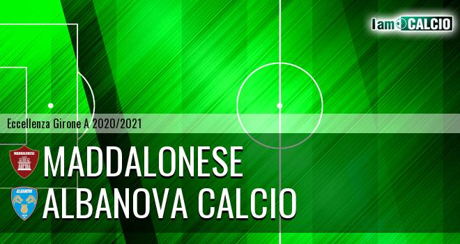 Maddalonese - Albanova Calcio