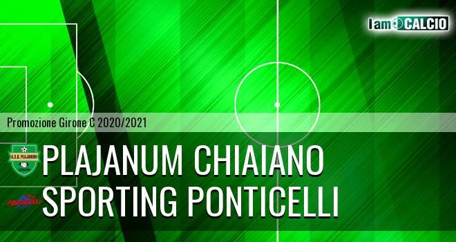 Plajanum Chiaiano - Sporting Ponticelli