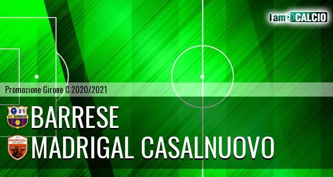 Barrese - Madrigal Casalnuovo