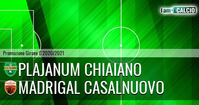 Plajanum Chiaiano - Madrigal Casalnuovo