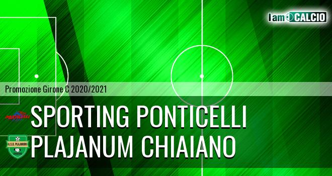 Sporting Ponticelli - Plajanum Chiaiano