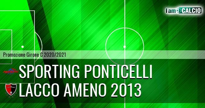 Sporting Ponticelli - Lacco Ameno 2013
