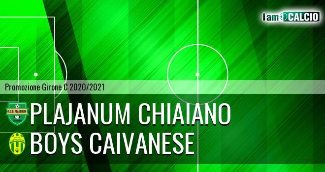 Plajanum Chiaiano - Boys Caivanese