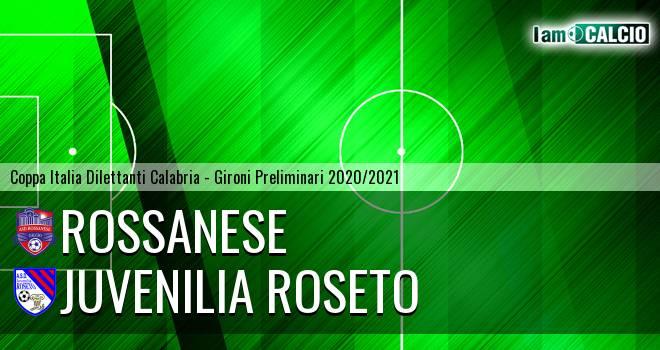 Rossanese - Juvenilia Roseto