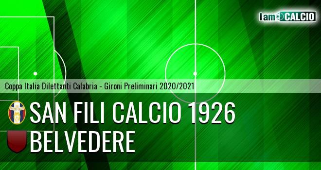 San Fili Calcio 1926 - Belvedere