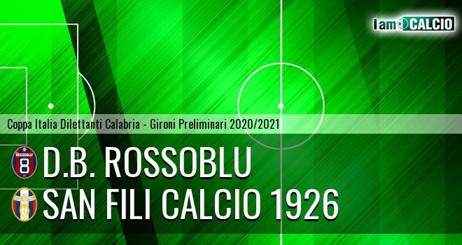 D.B. Rossoblu - San Fili Calcio 1926