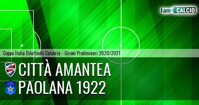 Città Amantea - Paolana 1922
