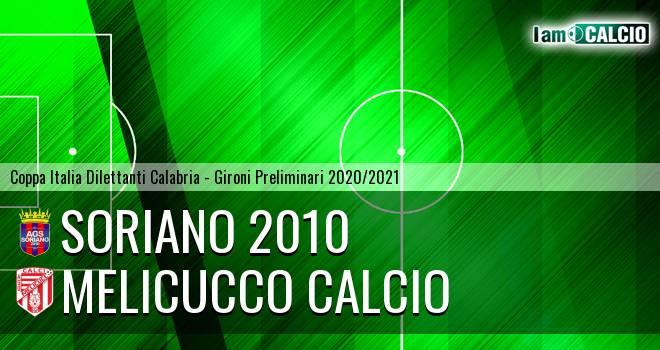 Soriano 2010 - Melicucco Calcio