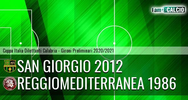 San Giorgio 2012 - Reggiomediterranea 1986