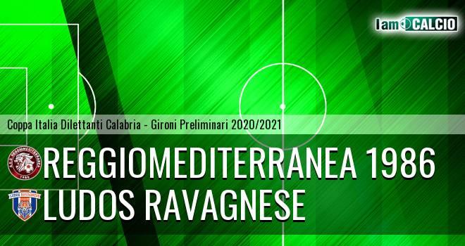 Reggiomediterranea 1986 - Ludos Ravagnese