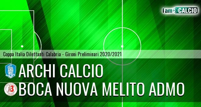 Archi Calcio - Boca Nuova Melito ADMO