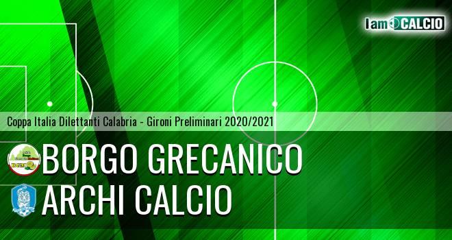 Borgo Grecanico - Archi Calcio