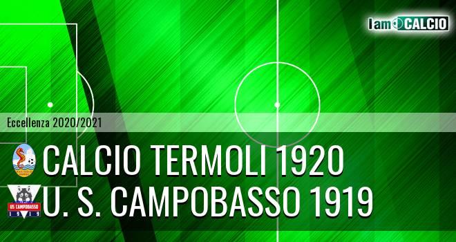 Calcio Termoli 1920 - U. S. Campobasso 1919