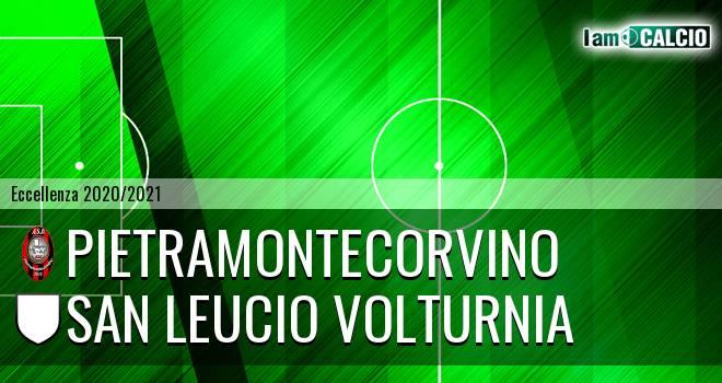 Pietramontecorvino - San Leucio Volturnia
