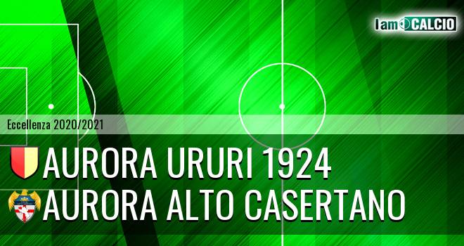 Aurora Ururi 1924 - Aurora Alto Casertano