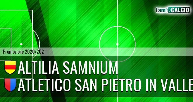 Altilia Samnium - Atletico San Pietro in Valle