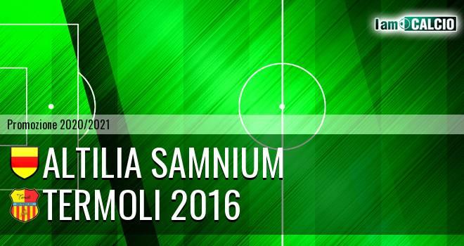 Altilia Samnium - Termoli 2016