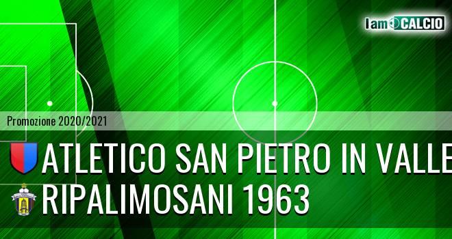 Atletico San Pietro in Valle - Ripalimosani 1963