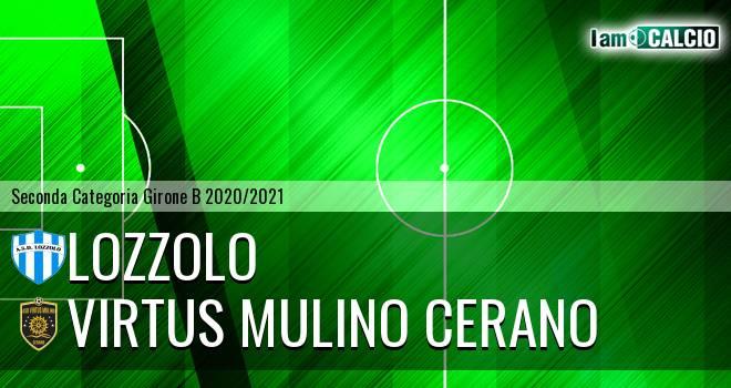 Lozzolo - Virtus Mulino Cerano