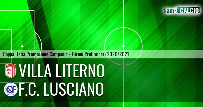 Villa Literno - F.C. Lusciano