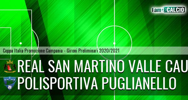 Real San Martino Valle Caudina - Polisportiva Puglianello